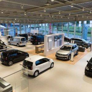 Verbouwing Volkswagen showroom POUW Deventer