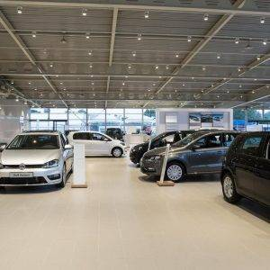 Verbouwing Volkswagen showroom POUW Deventer