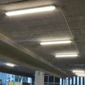 Ledverlichting Centrumgarage Deventer
